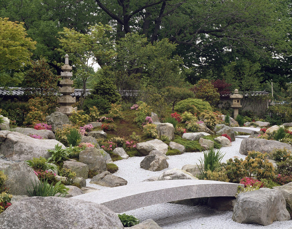 Tenshin-En Japanese Garden | GardenVisit.com, the garden landscape ...