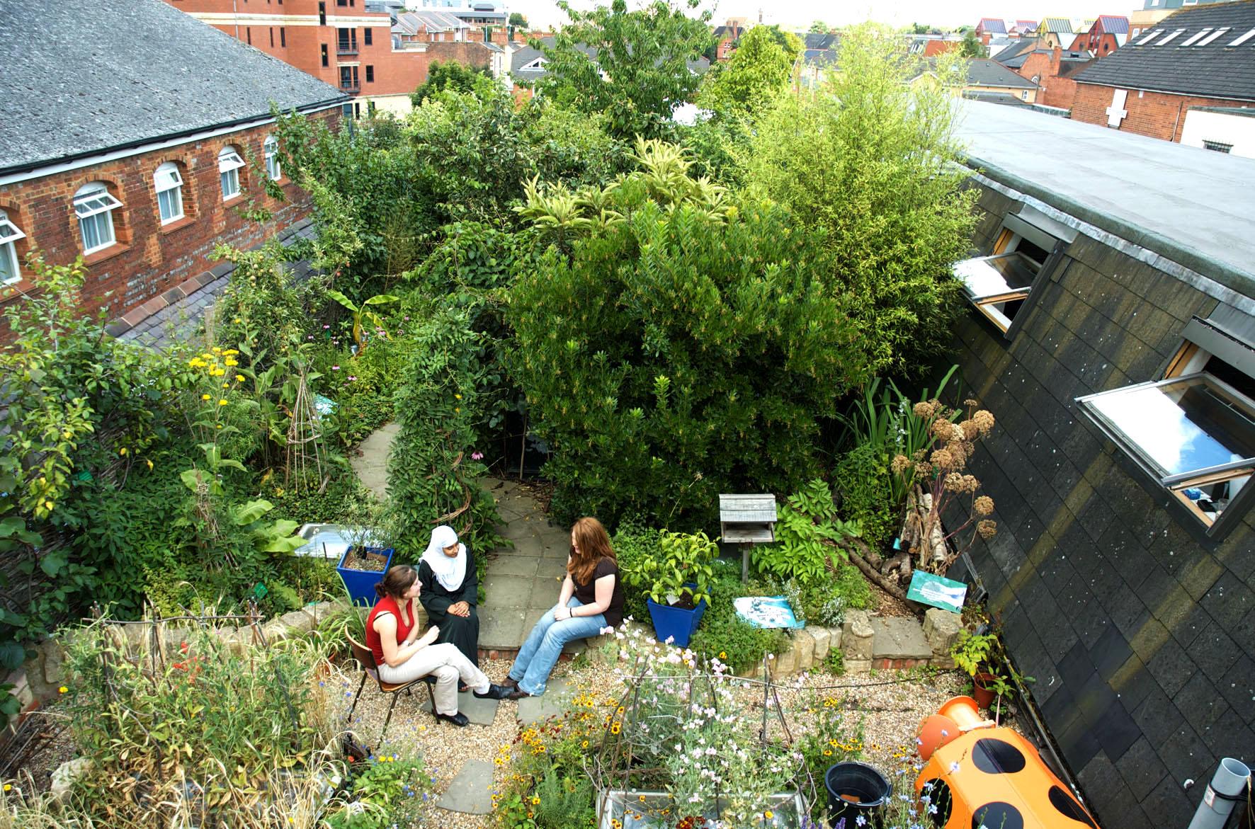 RISC Roof Garden | GardenVisit.com, the garden landscape guide