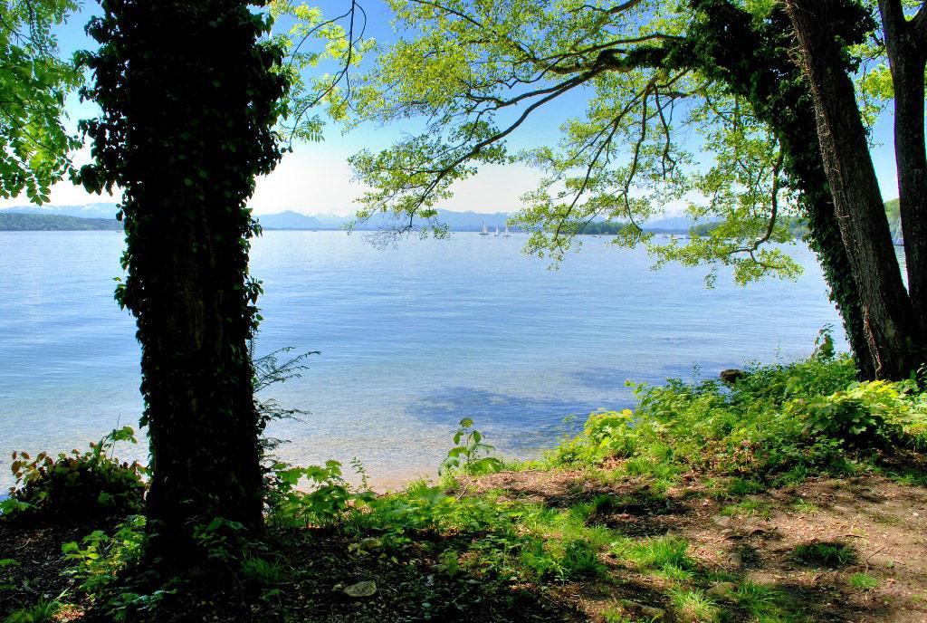 possenhofen schlosspark lake 600x jpg