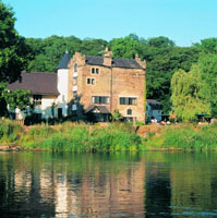The Priest House on the River, Derbyshire