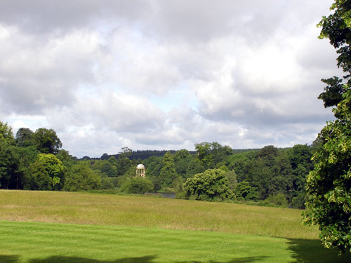 View across Lawns, Ditchley Park
