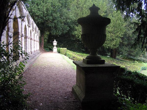 Temple at Rousham House Garden