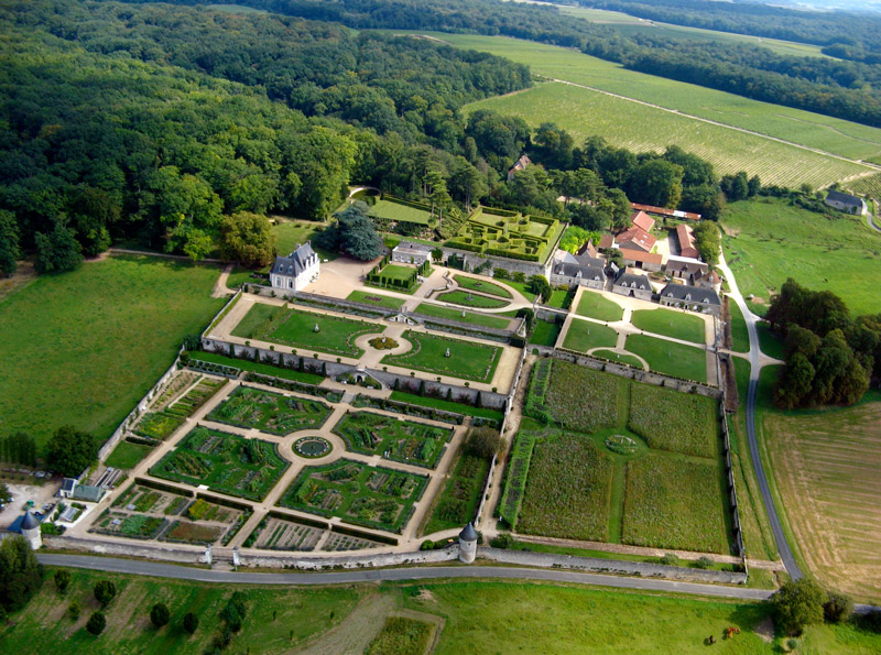 Aerial View of Chateau de Valmer