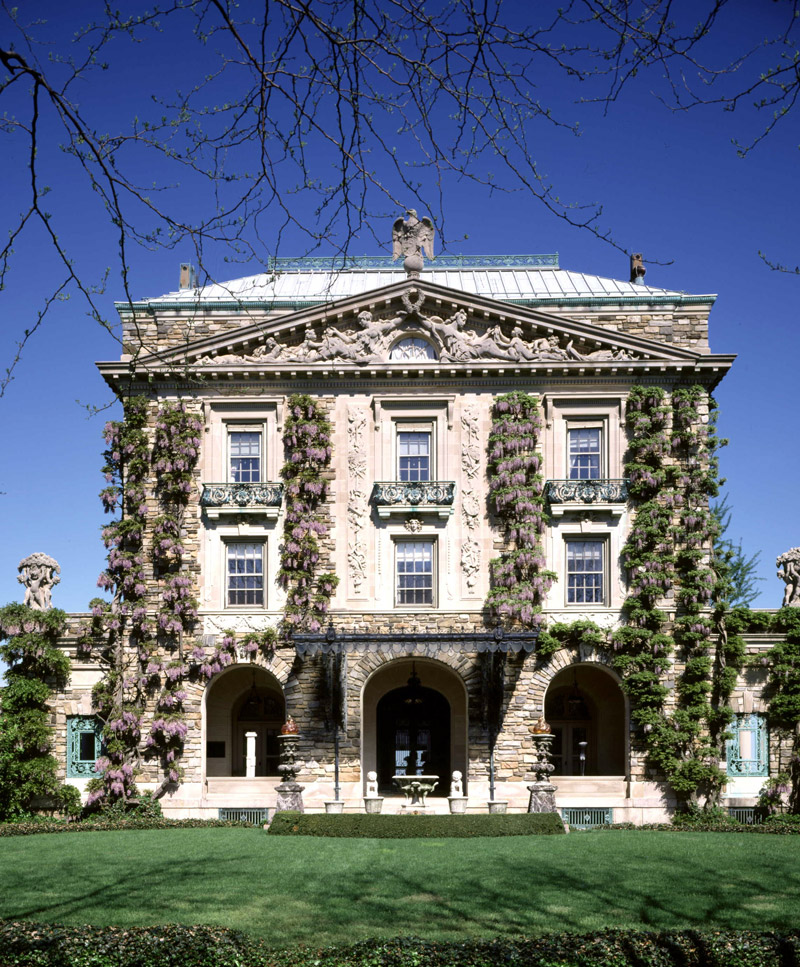 East Façade, Kykuit The Rockefeller Estate