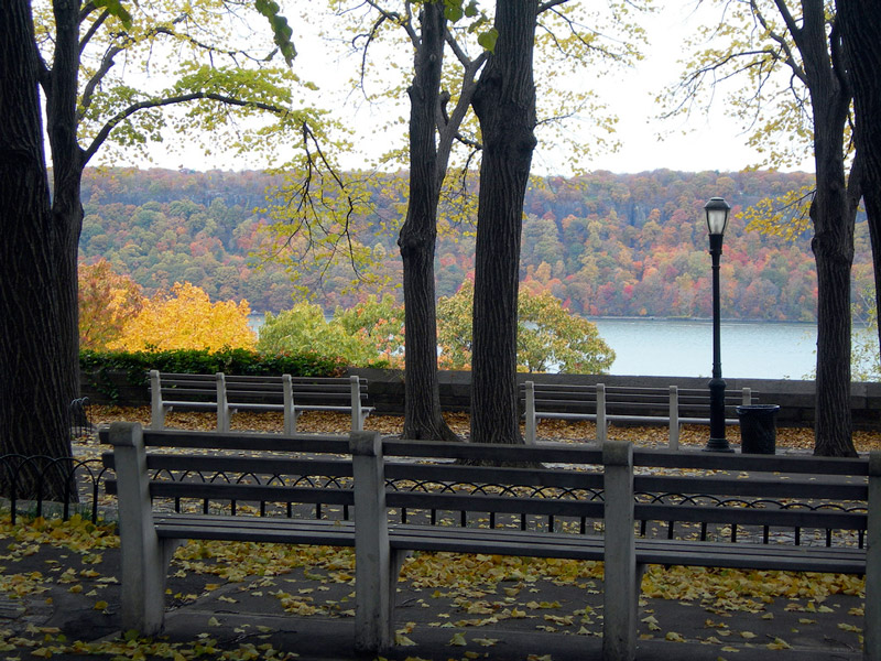 Terrace, Fort Tryon Park