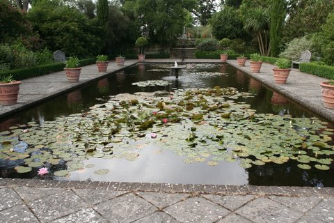 The so-called Italian Garden at Borde Hill