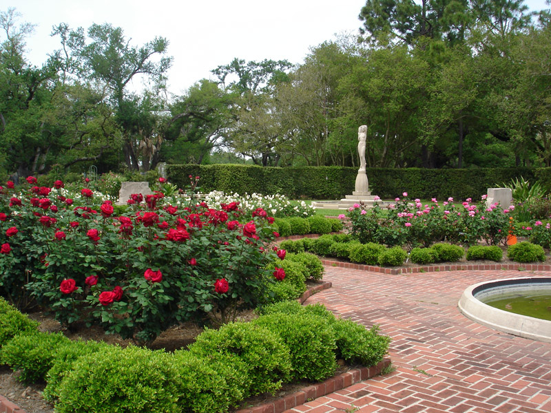Rose Garden, New Orleans Botanical Garden