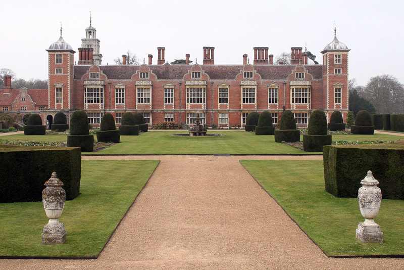 Blickling Hall Garden, Norfolk