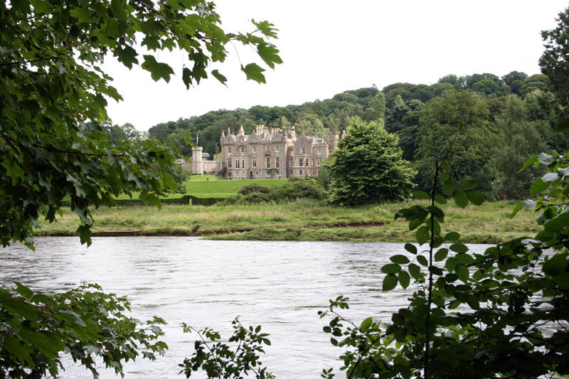 View across the Tweed, Abbotsford House