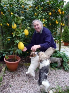 Ray Hubbard with Citrus medica