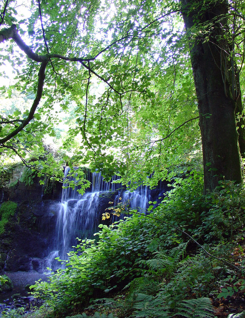 Waterfall, Finlaystone Country Estate