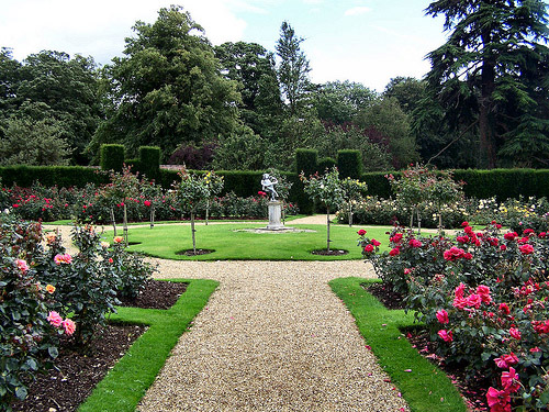 Rose Garden, Rockingham Castle