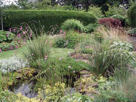 Pond, Croft Acre Garden