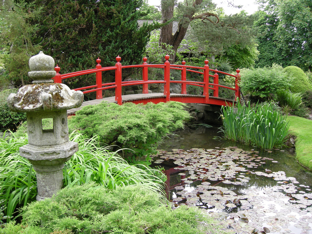 Japanese gardens at the irish national stud liam hughes