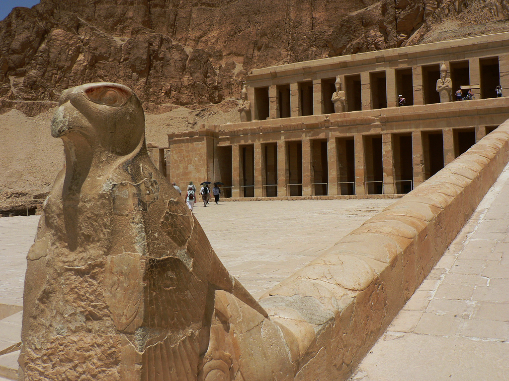Temple of Hatshepsut John Thomas