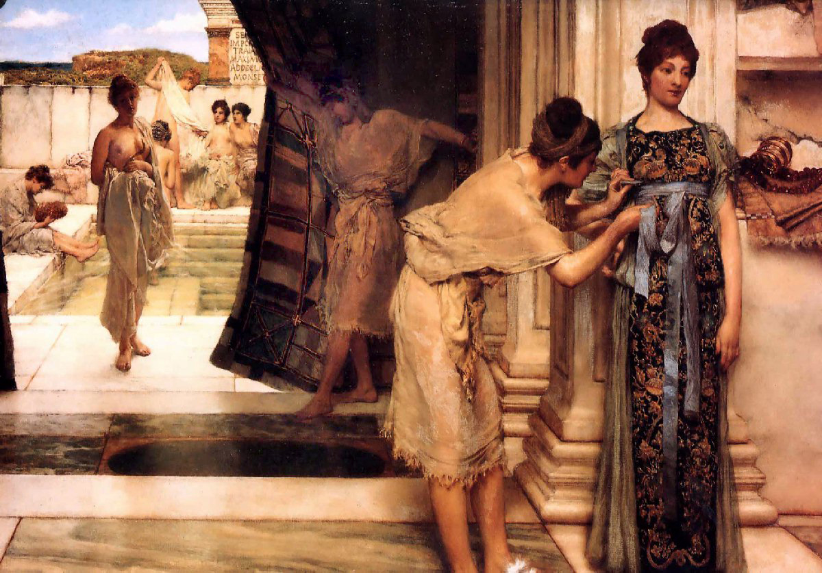 Baths of Caracalla Gardens Alma Tadema
