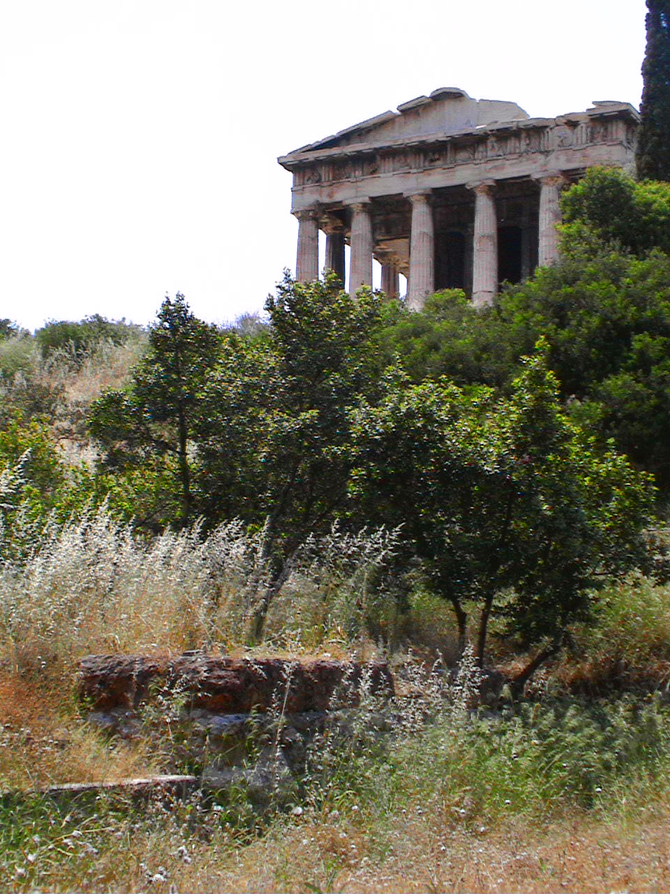 Temple of Hephaistos Gardenvisit.com