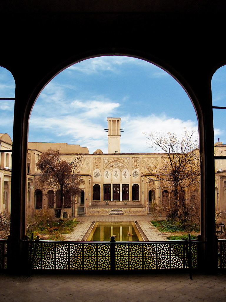 Kashan Mansion Gardens Hamed Saber