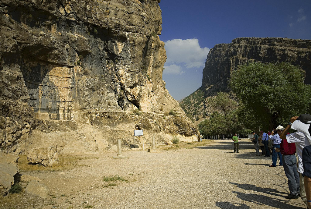 Bishapur Gorge and Reliefs