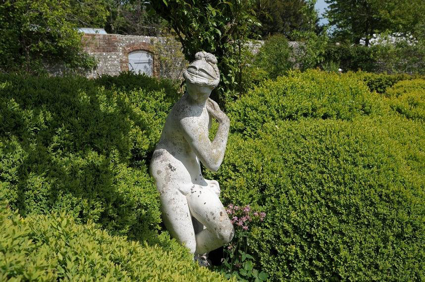 Statue, Charleston Farmhouse Garden