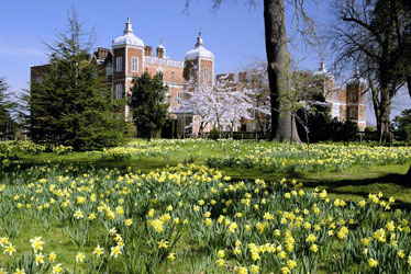 Hatfield house spring