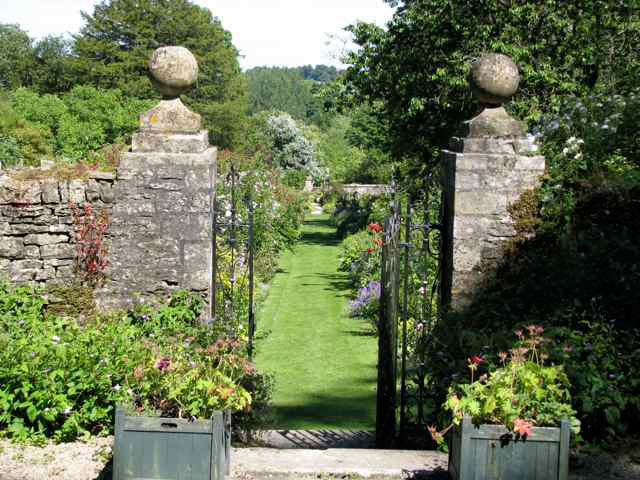 Gate, Cerney House Gardens