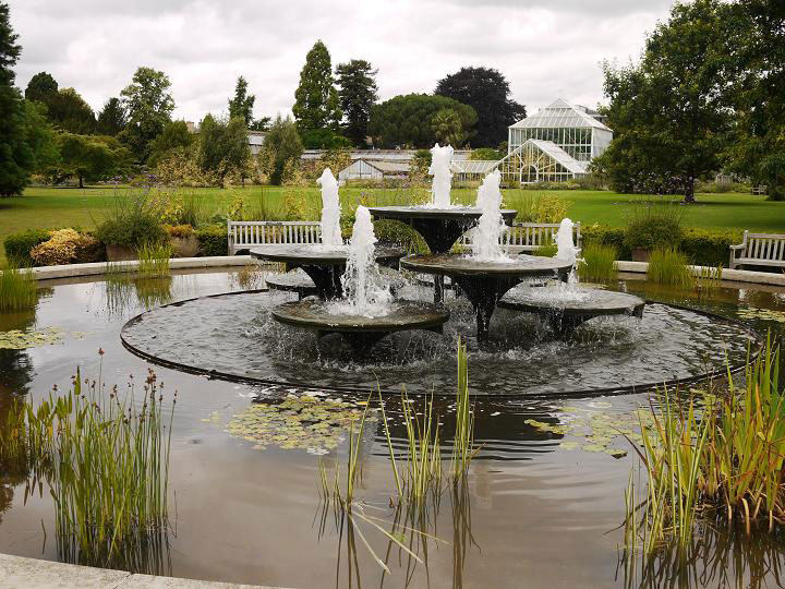 Fountains, Cambridge University Botanic Garden