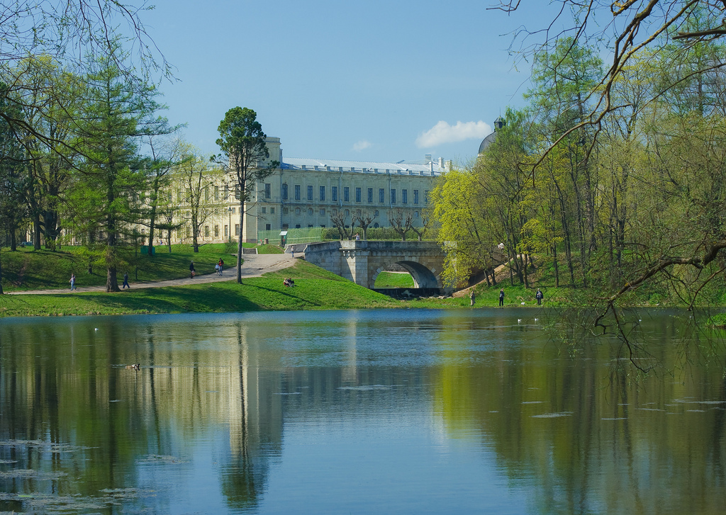 Gatchina Palace Garden St Petersburg