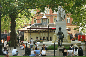 Leicester Square; Leicester Square Garden, London